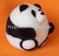 plush cute stuffed animal doll toy, squabby panda bear