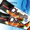 Laminated plastic chocolate packaging box & bag