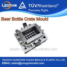 China high quaity plastic bottle crate mould/basket maker