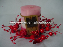 brand new best selling wreaths and candle rings in different colors