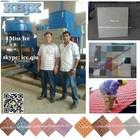 KBJX easily operate Terrazzo tile machine / floor tile making machine