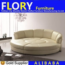 Modern bedroom simple design round sofa bed S818