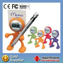 mini flexible man shape alarm clock