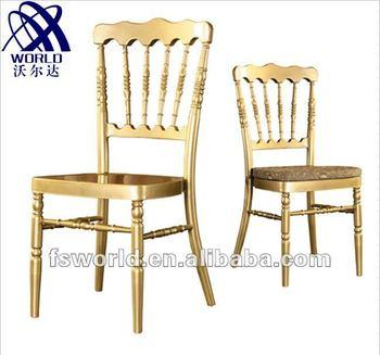 aluminum chiavari napoleon chair