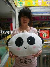 Chinese panda toy cushion children animal cushion