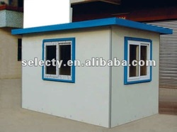 2015 Latest steel sentry box/mobile prefab sentry box / kiosk / booth