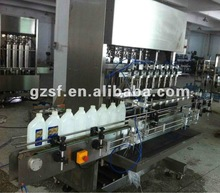 SF automatic filling machine liquid filling machine filling labeling capping mechanical device factory