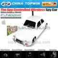 Wifi coche controlado ctw-019 wifi del coche controlado con cámara de video juguetes para niños y adultos