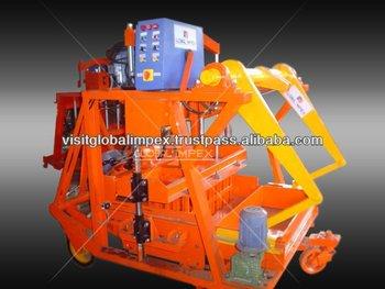 Jumbo Concrete Block Machine