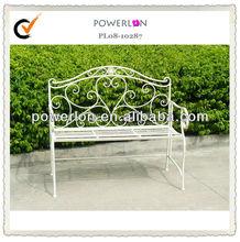 iron outdoor garden bench