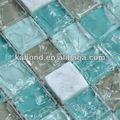 cristal de haute qualité en verre craquelé mosaïque