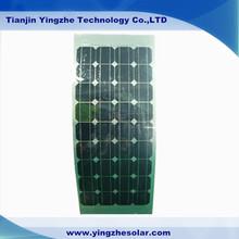 80W mono semi-flexible solar panels