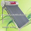 2015 yeni tasarlanmış olmayan- basınçlı güneş enerjili su ısıtıcı boşaltılmış tüp düşük fiyat