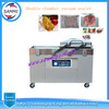 Double chamber vacuum packing machine DZ600/2SB for sea food,salted meat,dry fish,pork,beef,rice