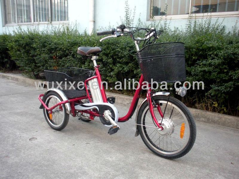 triciclo elétrico 3 rodas de bicicleta e