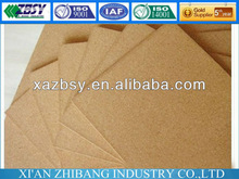 natural cork sheet material for bulletin board QBCST02