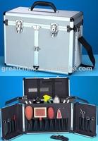 Aluminum tool case - Pet groomers tack box - aluminum grooming case - grooming box(XY-587)