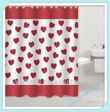 Microfiber Mildew Resistant Polyester Shower Curtain