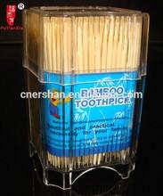 custom label bamboo tooth picks