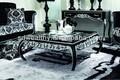 หรูหราโต๊ะกาแฟมือแกะสลัก/ขุนนางยุโรปฟอยล์สีเงินโต๊ะกาแฟ/ฝรั่งเศสโบราณโต๊ะกาแฟไม้yj-b2032a