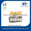 """BT1017 Brass gas ball valve 1/4""""-1"""""""