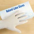 des gants en latex jetables médicaux