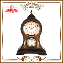 Home clock table resin decoration piece 1252Q