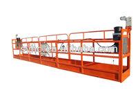 removable platform for high rise building