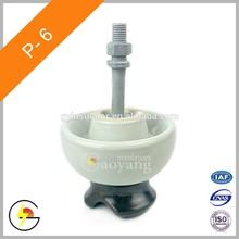 P-6 Pin Type Porcelain Insulators
