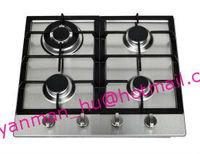 incorporado cuatro quemadores de cocina a gas