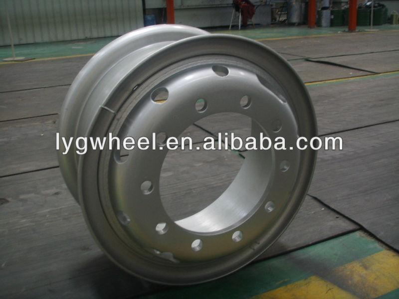 7.50-20 steel wheel, auto spare parts, wheel for 10.00-20 tire