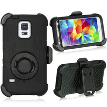For Samsung galaxy S5 I9600 Mobile Phone Case With kickstand and holster