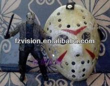 Halloween Costume Cosplay Freddy Vs Jason Damaged Hockey Mask