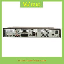 Hottest VU+DUO Linux Digital satellite receiver with FTA+IKS+CardSharing+Arabic IPTV