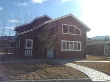 Beautiful wooden villa