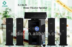 usb,sd,fm radio active 5.1 speakers subwoofer