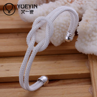 100% Quality guaranteed unique pattern jewelry exotic european style 925 silver bangle