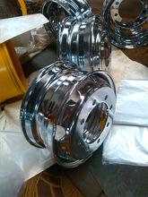 chrome plated steel truck wheels