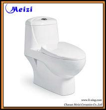 Bathroom ceramic one piece executive toilets