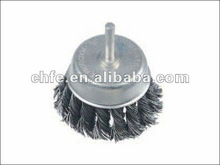 torsion-string cup brushes with shank