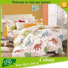 Printed cotton bed sheet sets