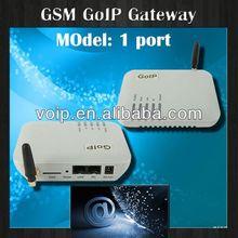 Hot voip gateway! 1 port gsm goip gateway,notebook keyboard for gateway