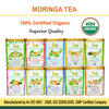 USDA Certified Bulk Moringa Ginger Tea