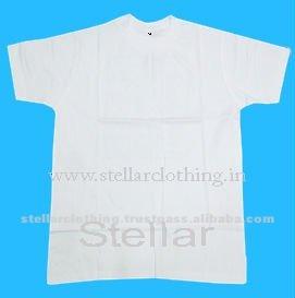120 gsm blanco t- shirt para las promociones