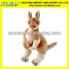 glow fur plush toy kangaroo