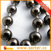 2014 HOT SELL shimmering golden metal beads curtain metal ball curtain