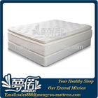 Pillow top memory foam and spring mattress