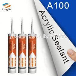 Kingfix A100 waterproof acrylic sealant for south america market