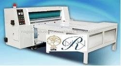 fully automatic corrugated paperboard semi-auto rotary die cutting machine/ cutter