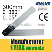 300mm 2-in1 Digital Angle Finder Meter Protractor Goniometer Ruler 60cm 360 degree Measurer